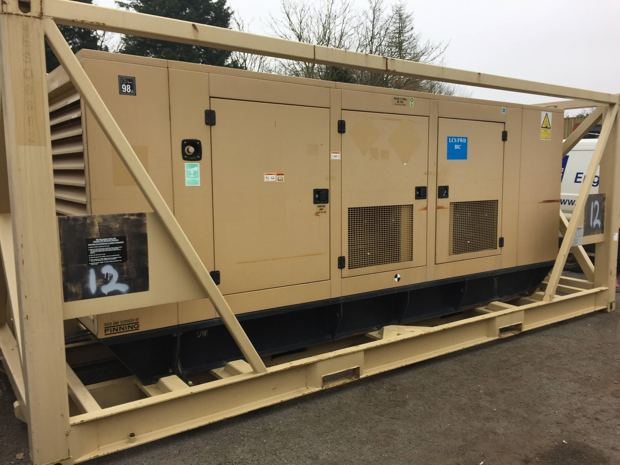 CAT Generator Model No. 350 - Multiple Units Available