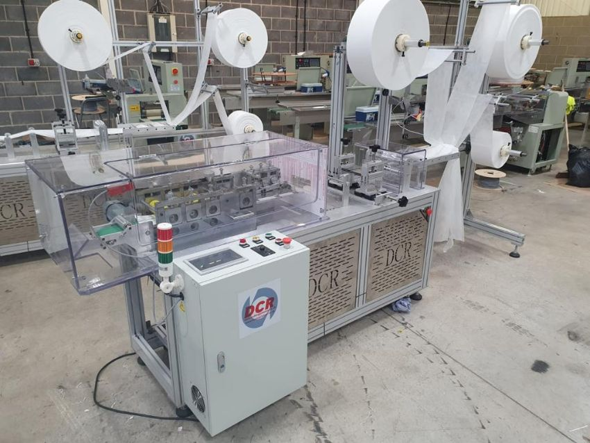 1 x DCR MMM150 Mask Production Machine